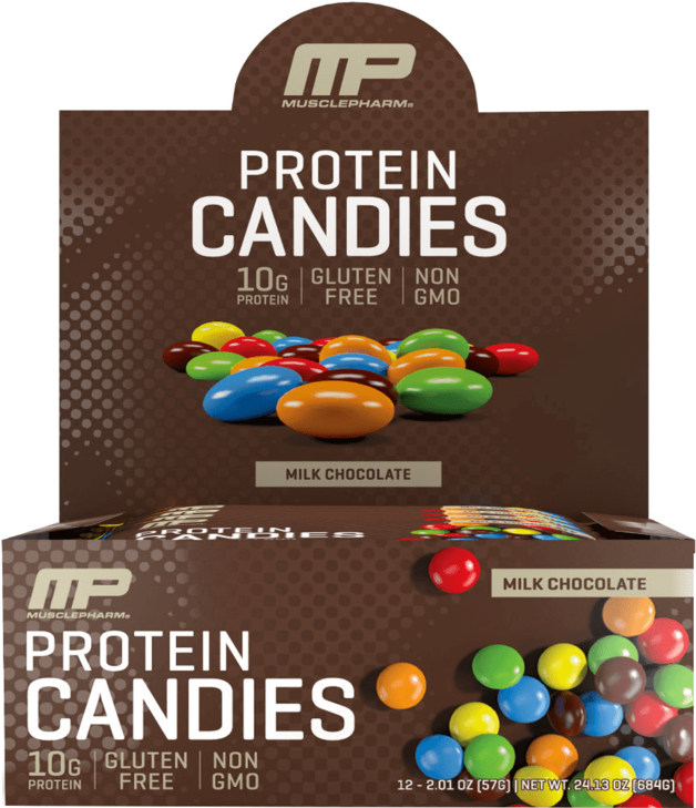 MusclePharm: Protein Candies - Milk Chocolate (Box of 12)