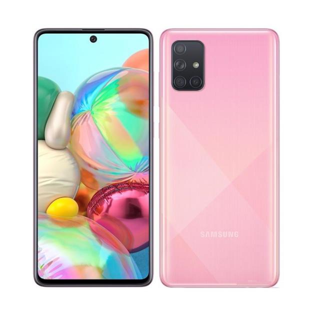 Samsung Galaxy A71 (2020 Model) 128GB (8GB RAM) - Prism Crush Pink