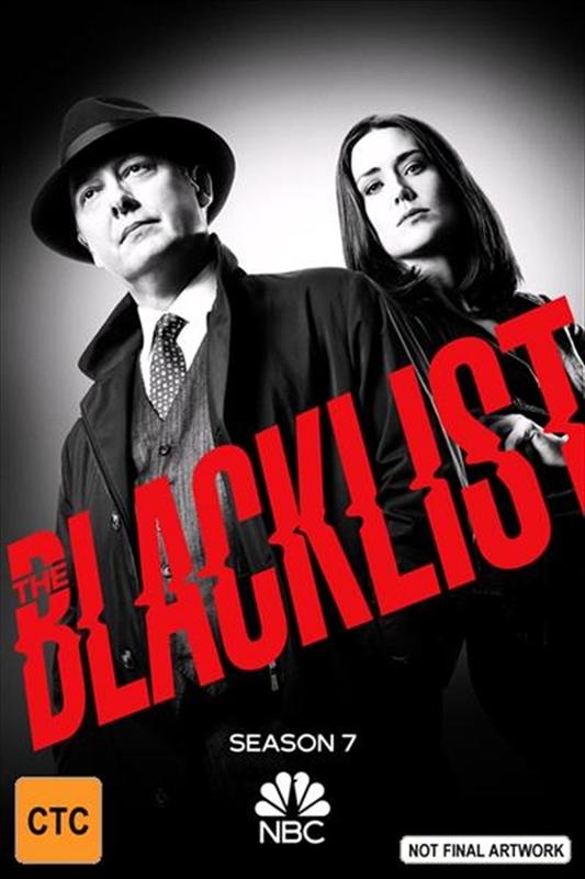 The Blacklist - The Complete Seventh Season on DVD