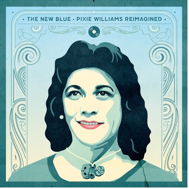 The New Blue - Pixie Williams Reimagined by Pixie Williams