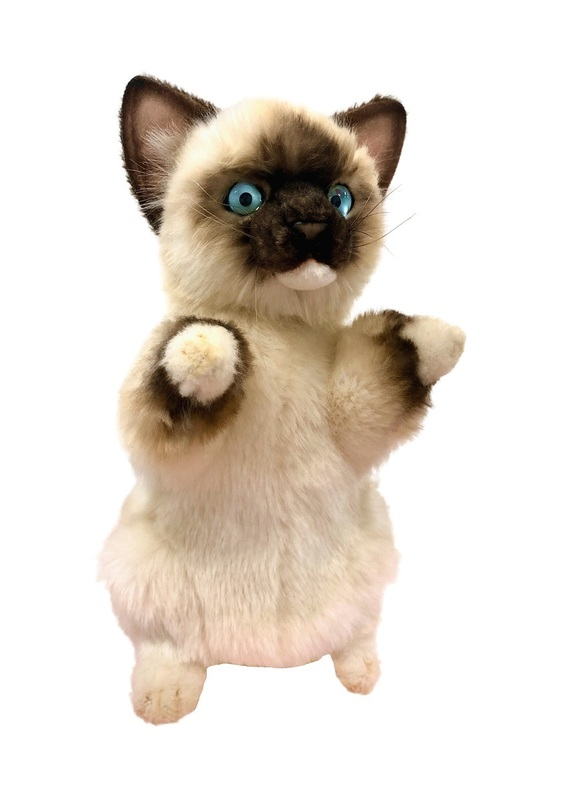Hansa: Rag Doll Kitten - Plush Puppet (30cm)