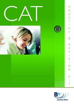 CAT - 1 Recording Financial Transactions (UK): Kit: Introductory paper 1 by BPP Learning Media