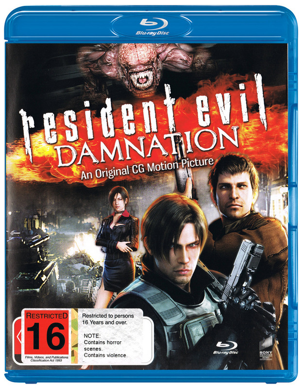 Resident Evil Damnation Blu Ray Buy Now At Mighty Ape Nz
