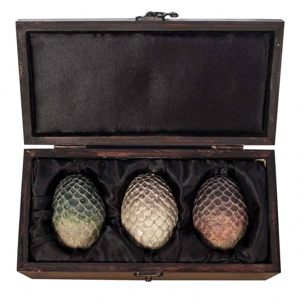 Game of Thrones Dragon Egg Prop Replica Set image