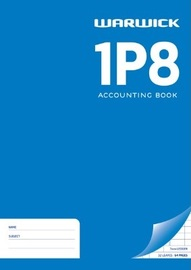 Warwick 1P8 Accounting Book