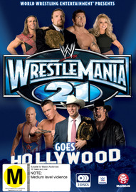 WWE - Wrestlemania 21 Goes Hollywood on DVD image