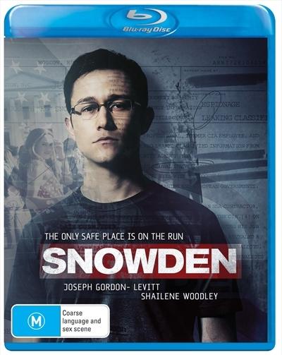 Snowden on Blu-ray