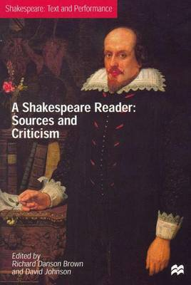 A Shakespeare Reader image
