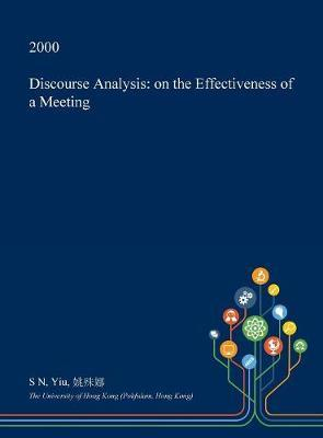 Discourse Analysis by S N Yiu image