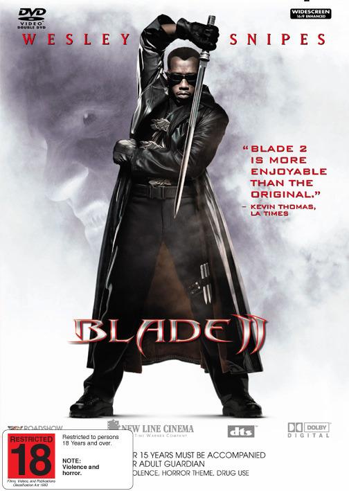 Blade 2 on DVD image