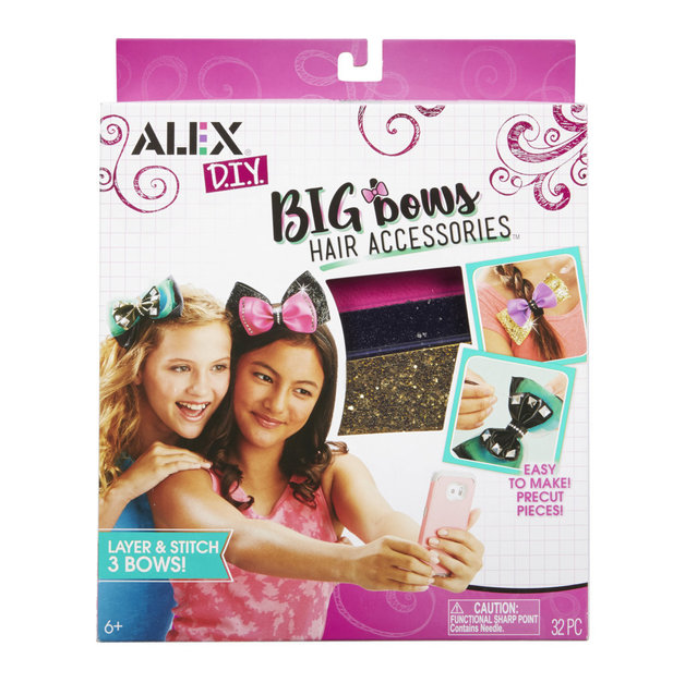 Alex DIY: Big Bows - Hair Accessories