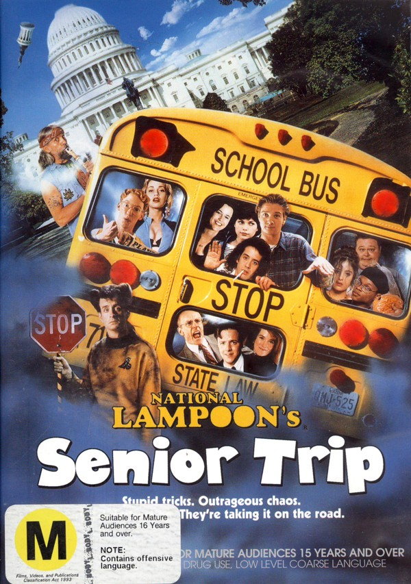 National Lampoon's Senior Trip on DVD image