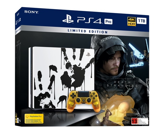 PS4 PRO 1TB Death Stranding Limited Edition Console Bundle for PS4