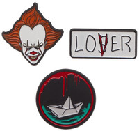 It (2017): Pennywise - Lapel Pin 3-Pack
