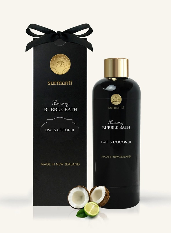 Surmanti Luxury Bath Bubble - Lime & Coconut (300ml)