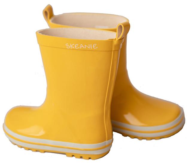 Skeanie: Kids Gumboots Yellow - Size 27