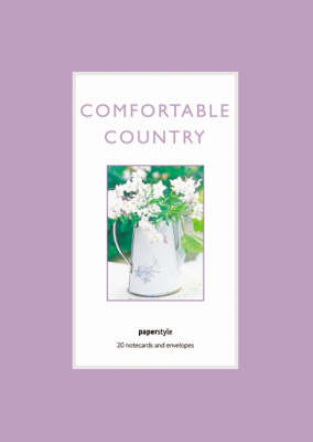 Comfortable Country Notecards image