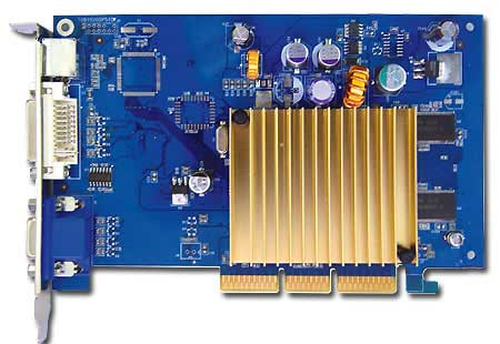 Albatron Video Card AGP6200A 128MB DDR TV OUT image