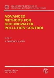 Advanced Methods for Groundwater Pollution Control