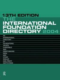 The International Foundation Directory 2004 image