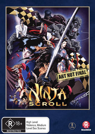 Ninja Scroll on DVD