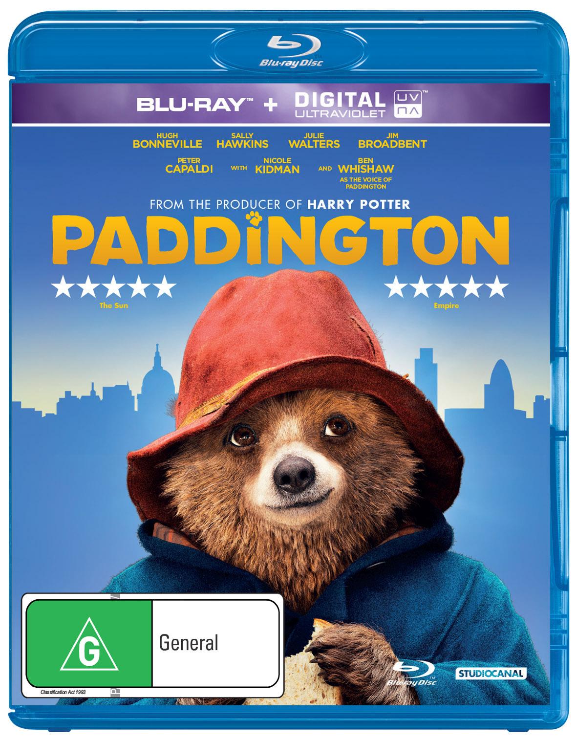 Paddington on Blu-ray image