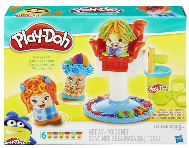 Play-Doh: Crazy Cuts Barbershop Playset