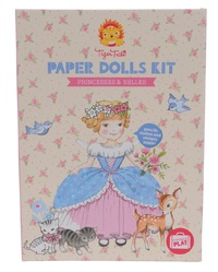 Tiger Tribe: Paper Dolls Kit - Princesses & Belles