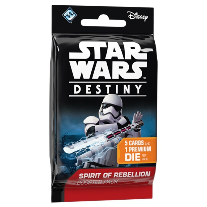 Star Wars Destiny: Spirit of the Rebellion Single Booster image
