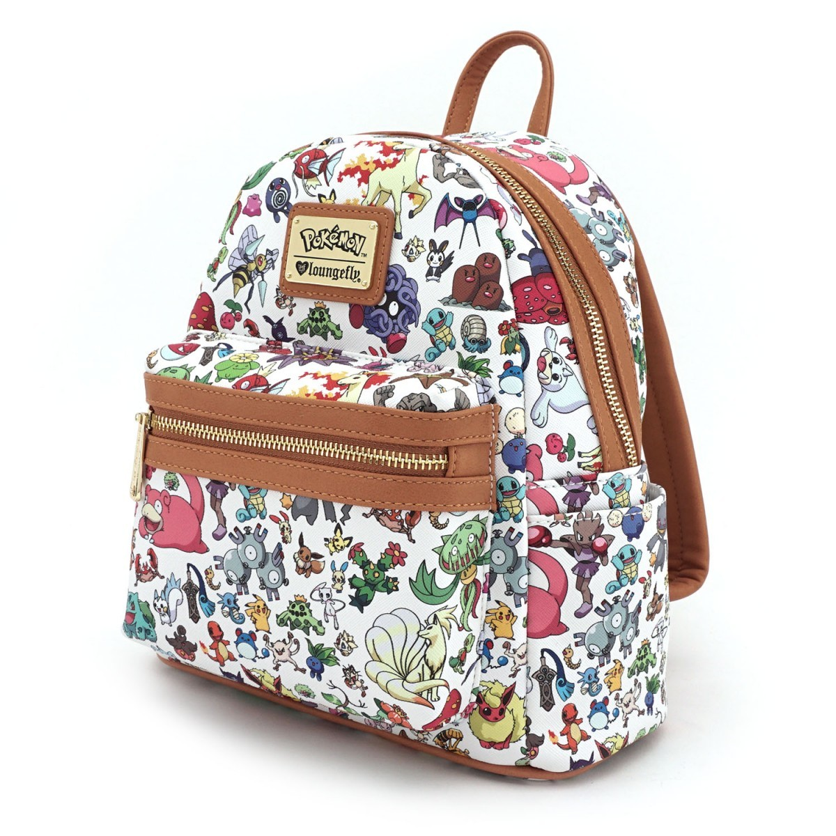 Loungefly Pokemon Character Print White Mini Backpack image