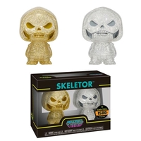 Masters of the Universe: Skeletor (Gold & Silver) - Hikari XS Vinyl Figure 2-Pack