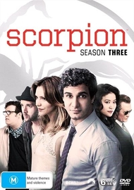Scorpion - Season Three on DVD