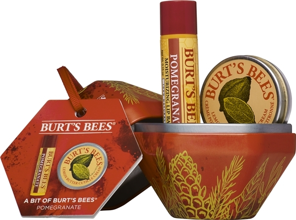 Burt's Bees: A Bit of Burt's Bees Bauble Gift Set - Pomegranate image