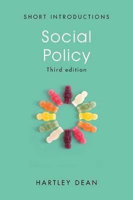 Social Policy by Hartley Dean image