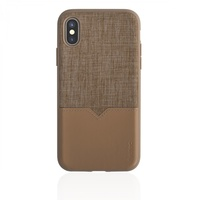Evutec: Northill Case with AFIX+ for iPhone X / XS - Tweed/Tan