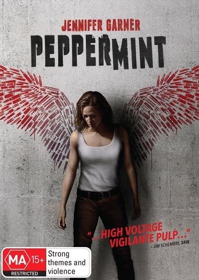 Peppermint on DVD