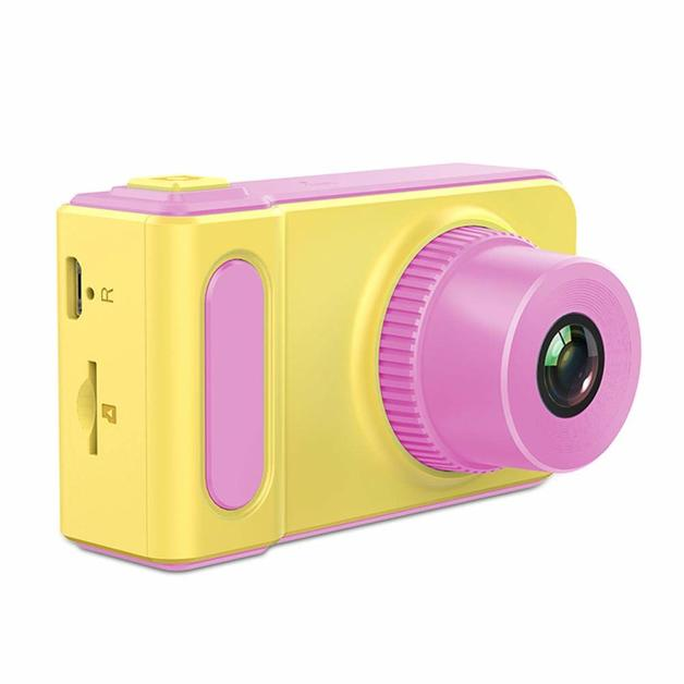 Cute Kids Camera Gifts for 3-8 Year Old Kids, Shockproof Cameras -Pink