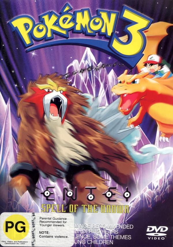 Pokemon 3: The Movie on DVD image