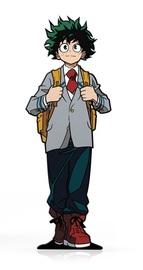 My Hero Academia: Izuku Midoriya (School Outfit) (#330) - Collectors FiGPiN