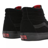 Vans: UA Sk8-Hi Unisex Sneakers - Black/Black (Size: US Mens 10)