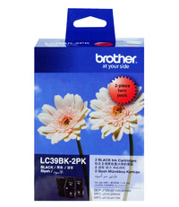 Brother LC-39BK2PK Ink Cartridge (Black) Twin Pack