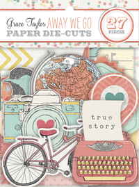 Grace Taylor: Away We Go - Paper Die Cuts