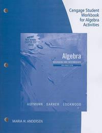Student Workbook for Algebra: Beginning and Intermediate, Multimedia Edition, 2nd by Richard N Aufmann image