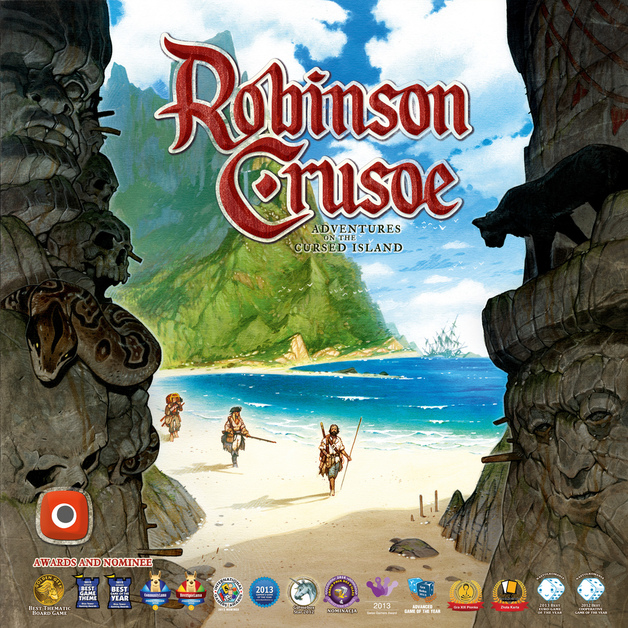Robinson Crusoe: Adventures on the Cursed Island - Board Game