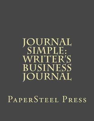 Journal Simple by Papersteel Press