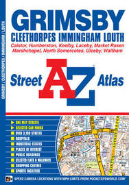Grimsby Street Atlas by Geographers A-Z Map Company image