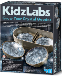 4M: KidzLabs Grow Your Crystal Geodes Science Kit