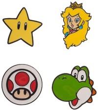 Super Mario - Lapel Pin Set (4-Pack)