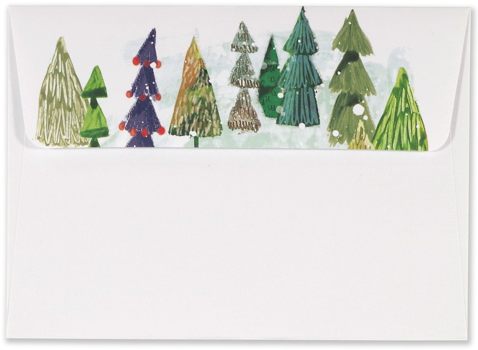 Buy Peter Pauper: Boxed Christmas Cards - Festival of Trees (20 Pack ...