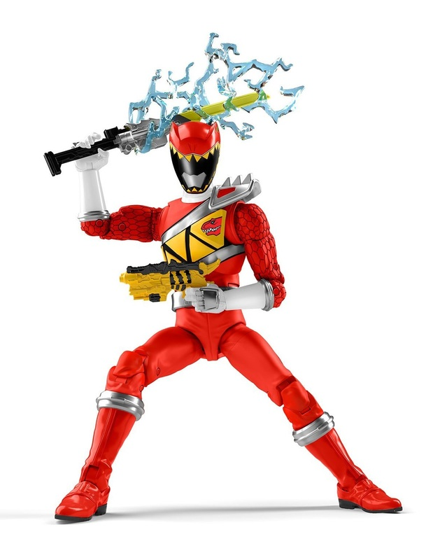 """Power Rangers: Lightning Collection 6"""" Action Figure - Dino Charge Red Ranger"""
